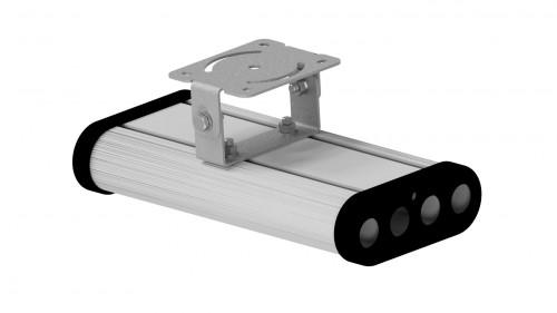 Крепление на один модуль, поворотное прямое (на стену и потолок)